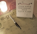 A fabulous twist to your guest book | Guest book birthday list