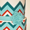Chevron inspired wedding