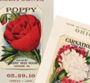 Seed Packet Save-the-Date idea