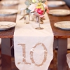 Stylish Wedding Table Numbers