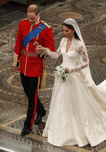 Duchess of Cambridge's Wedding Dress
