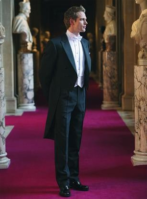 Evening Suit White Tie Menswear for Weddings