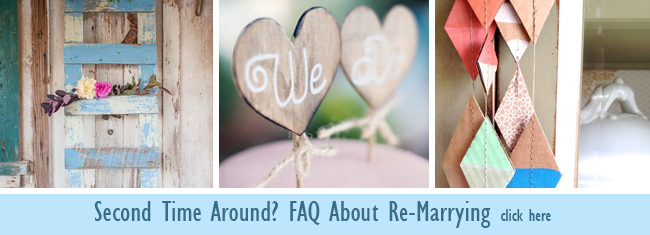 FAQ about re-marrying