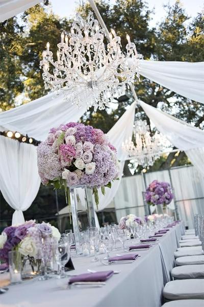 Wedding lighting chandeliers