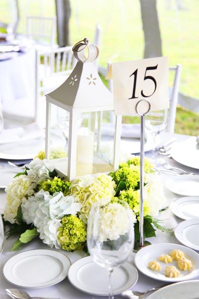 Wedding lighting huricane lanterns