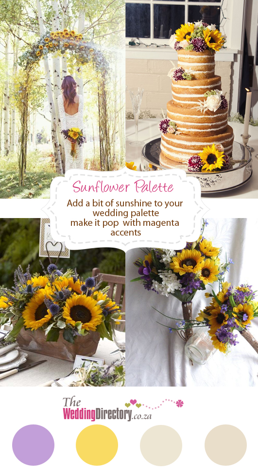 sunflower colour scheme