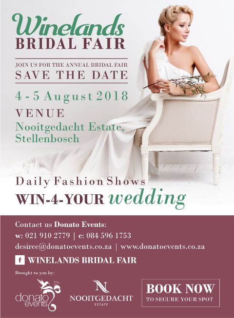 winelands bridal fair 2018