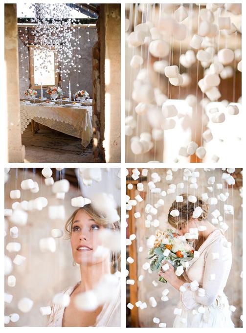 Christmas wedding décor