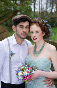Irish inspired wedding